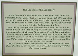 legend of the dragonfly poem the legend of the dragonfly