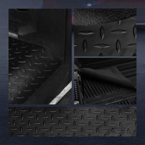 Toyota Tacoma Rubber Bed Mat For 2005 2017 Tacoma 5 60 Quot Black Rubber
