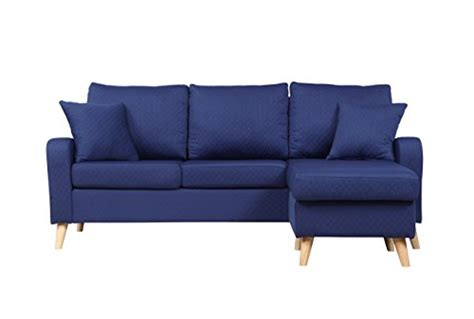 mid century sofa with chaise mid century modern linen fabric small space sectional sofa