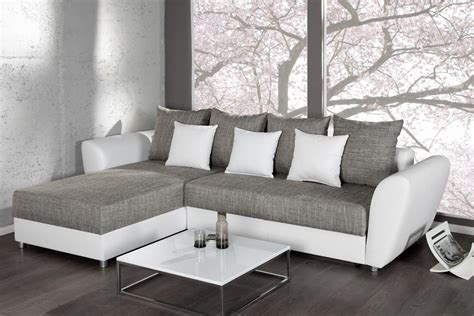 canape gris blanc conforama canap 233 d angle blanc et gris conforama canap 233 id 233 es de