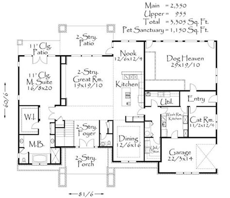 makeover home edition house plan m 4455