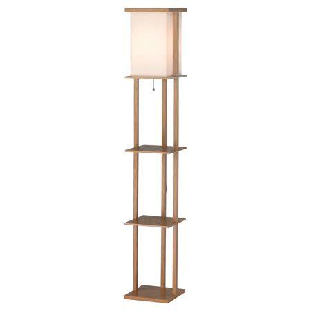 walmart floor ls with shelves adesso barbery shelf floor l oak walmart