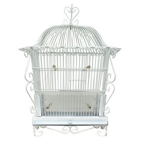 canary bird cage vintage art deco victorian style
