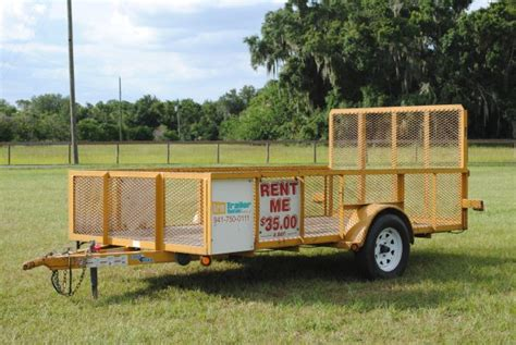 flat bed trailer rental affordable rental trailers equipment trailers dump