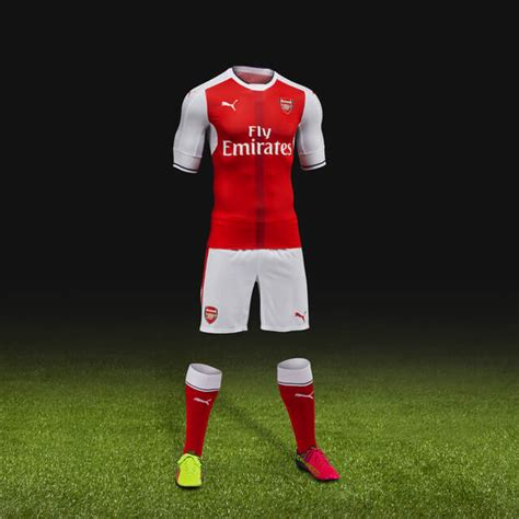 T Shirt Epl Arsenal 6 arsenal unveil new home jersey for 2016 17 season world