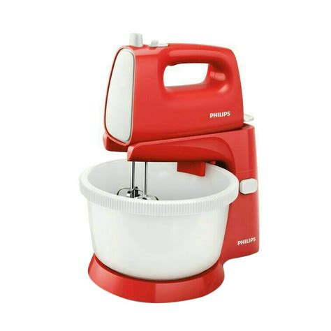Mixer Philips Hr 1559 jual fbo philips hr1559 stand mixer merah harga kualitas terjamin blibli