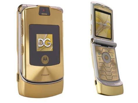 Gift It Gold Dolce Gabbana Razr V3i by Motorola Unlocked Phone Motorola Razr V3i Dolce Gabbana