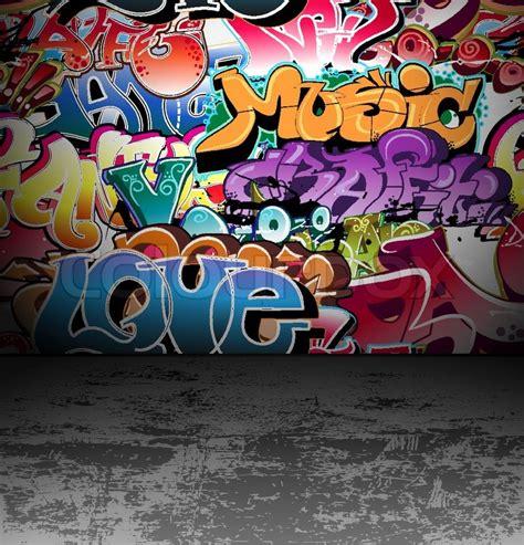 hip hop street wall painting weneedfun