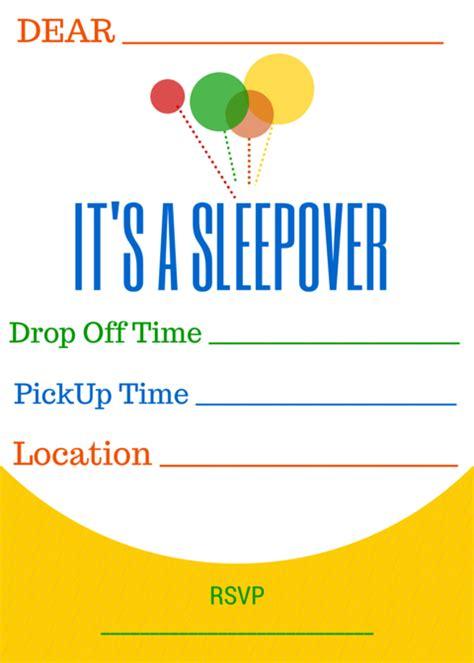 free sleepover birthday invitations printable sleepover with m m s 174 free printable slumber invites sharefunshine ad