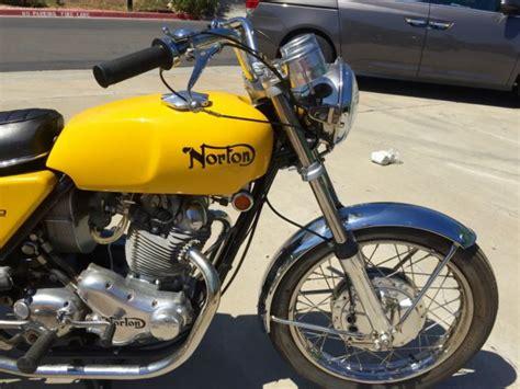 1970 norton commando 750 motorcycle collector s show bike no reserve