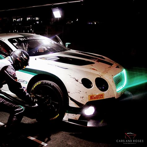 bentley night bentley gt3 by night 04 prints cars and roses
