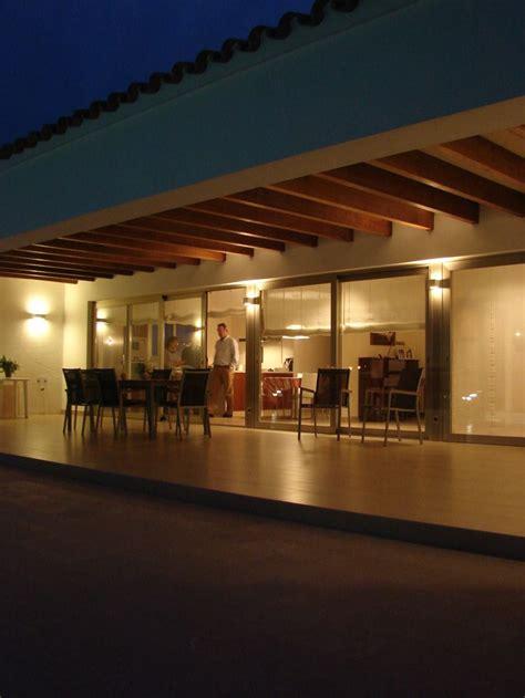porche exterior exterior porche terraza contemporaneo decoracion via