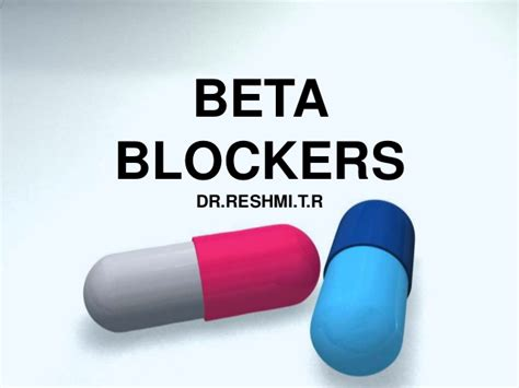 Blockers Name Change Beta Blockers