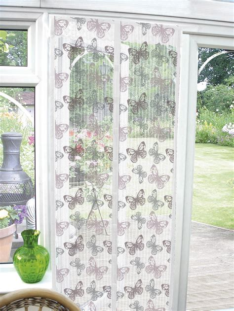butterfly door curtain fly bug insect pest door screen guard magnetic curtain