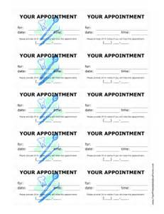printable dental office treatment reminder cards