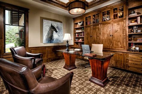 impressive home office designs  traditional