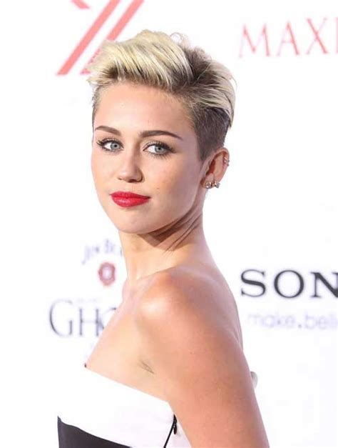 miley cyrus short haircut 2013 2013 celebrity short hairstyles short hairstyles 2017