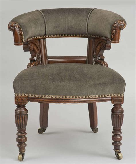Library Armchair by William Iv Library Armchair At 1stdibs