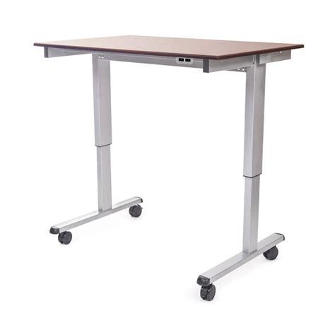 adjustable stand up desk 48 quot electric adjustable stand up desk