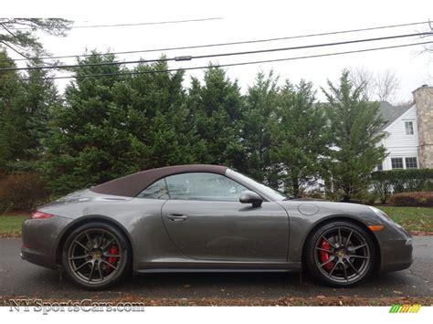 grey porsche 911 convertible 2014 porsche 911 carrera 4s cabriolet www pixshark com