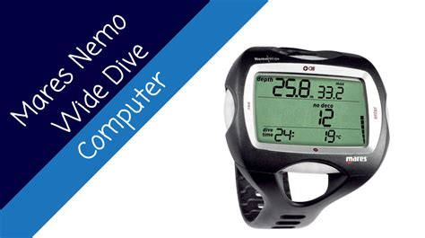 dive computer reviews mares nemo wide dive computer review price and features