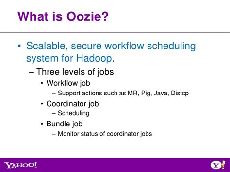 what is a workflow coordinator july 2012 hug overview of oozie qualification process