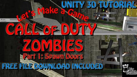 zombie tutorial unity let s make call of duty zombies in unity 3d tutorial part