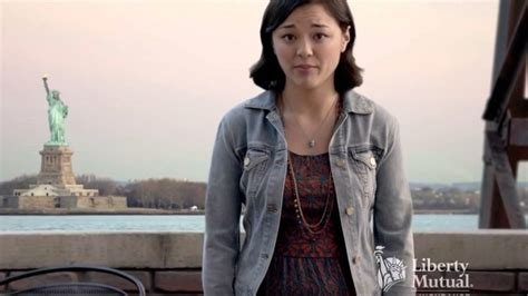 liberty mutual tall asian girl from commercial oprah loves brad youtube