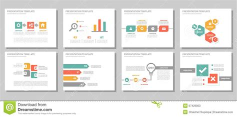 presentation layout design free red green orange multipurpose presentation template flat