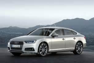 ford 2017 audi a5 sedan rendering 2017 audi a5 sportback