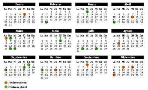 Calendario 2017 Para Imprimir Con Dias Festivos El Calendario Laboral Y Los Festivos 2017 Recursos