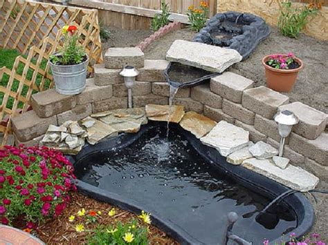 easy backyard pond ideas diy outdoor pond waterfall diy free engine image for user manual download