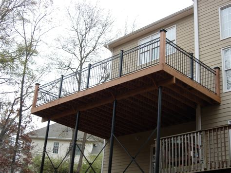 Home Decor Ideas by Metal Deck Railing At Lowes Metal Deck Railing