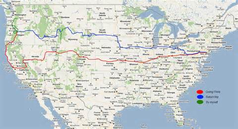 us map of interstate 90 the usa day 21 and 22 sloan jackson