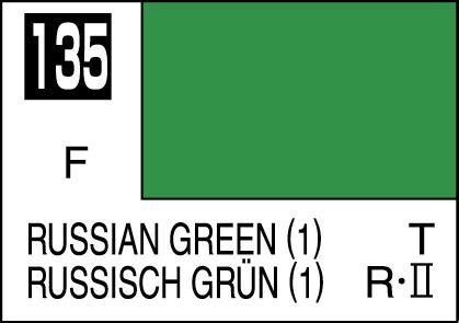 C135 Russian Green 1 1 mr color paint russian green 1 10ml c135 gsi c 135