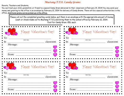 valentine gram template related pictures candy gram for