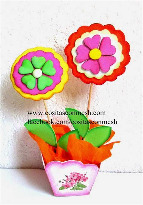 imagenes de navidad hechas en foami manualidades flores en foami para el d 237 a de la madre