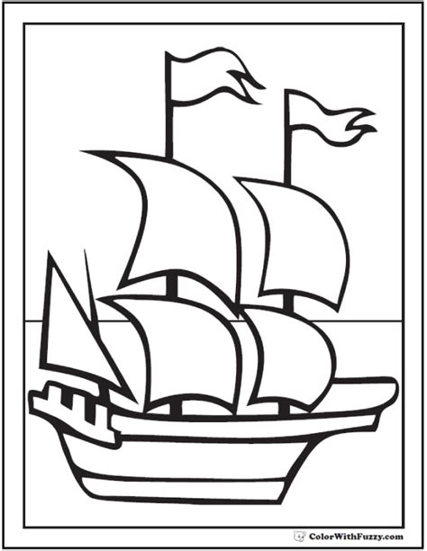 mayflower coloring page mayflower coloring sheet for adults coloring pages