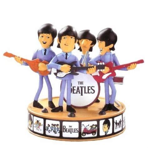 beatles christmas tree ornaments figurines miniature