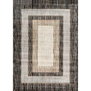 X8 Chaz Brown world rug gallery iron bridge brown blue 5 x8 rug home