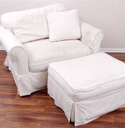 slipcovers for chairs and ottomans arhaus chair and ottoman with camden collection slipcovers