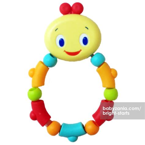 Mainan Edukasi Bright Starts Twist Teethe bayi usia 3 bulan mainan ludah mainan oliv