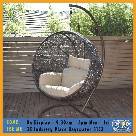 outdoor egg swing outdoor swing egg chair outdoor furniture design and ideas