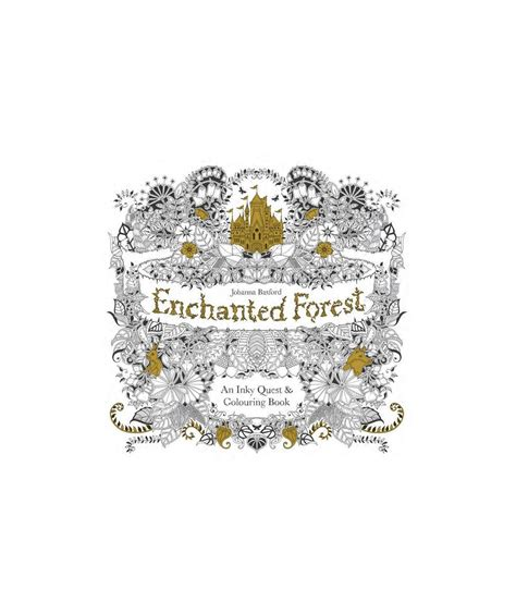 libro inky christmas an enchanting enchanted forest an inky quest coloring book by basford 17 mother s day gifts for