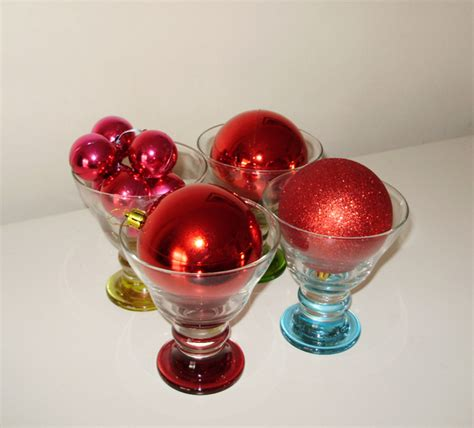 bauble table decoration decoration ideas with baubles
