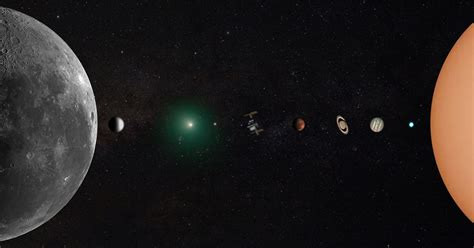 incredible photo   solar system photographed