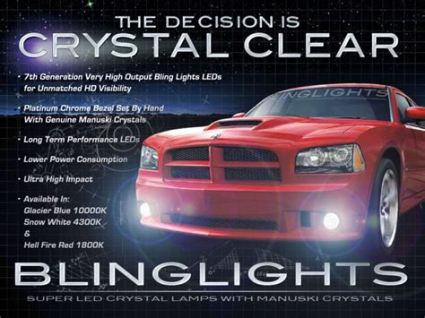 2006 dodge charger fog light kit 2006 2010 dodge charger led fog ls driving lights kit