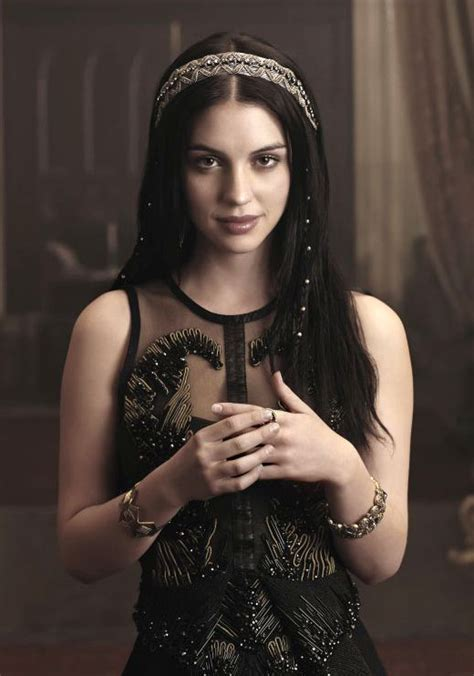 reign tv show hair beads reign interview adelaide kane talks duty and loyalty