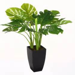 plante verte artificielle en pot h 70 cm objet de