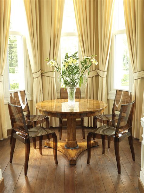 bay window curtain ideas dining room traditional with bay astounding kitchen chair cushions with ties decorating